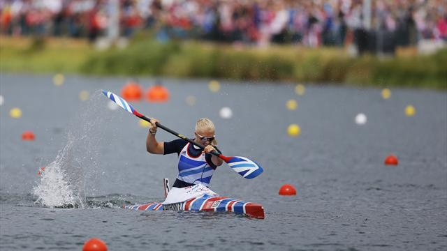 Cawthorn fades in 500m, Australia snatch Olympic K4 gold