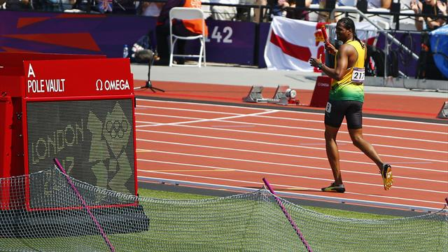 Injury ends Jamaica bid, GB through in Olympic relay