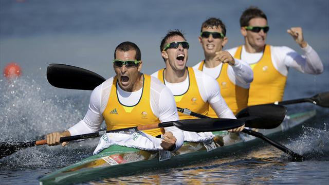 Lifesavers lift Australia with K4 gold