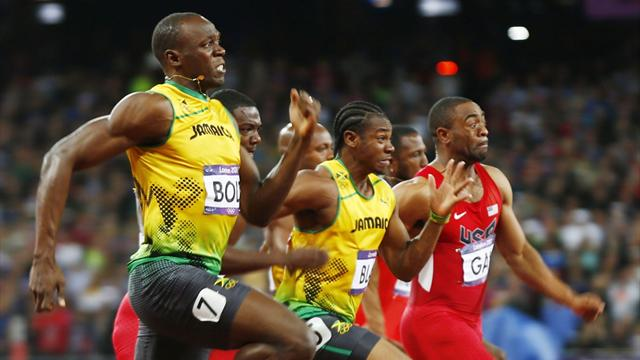 Devonish: Height gives Bolt 200m advantage over Blake