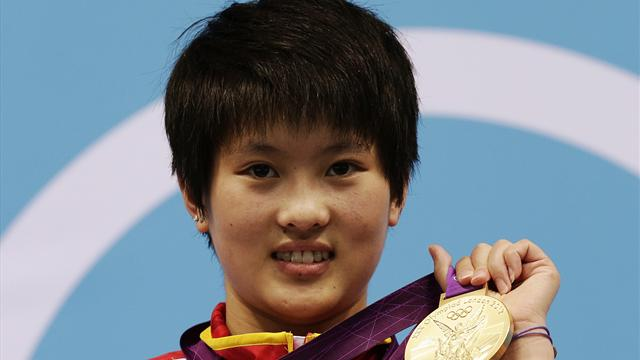 Peerless Chen takes another Olympic 10m gold