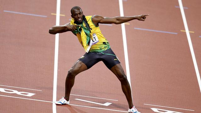 Yine istedi yine başardı: Usain Bolt