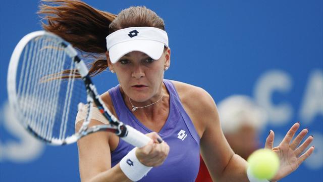 Radwanska through, Ivanovic routed in Montreal