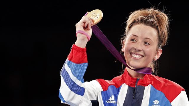 #Returnto2012 - Jade Jones wins brilliant taekwondo gold in London