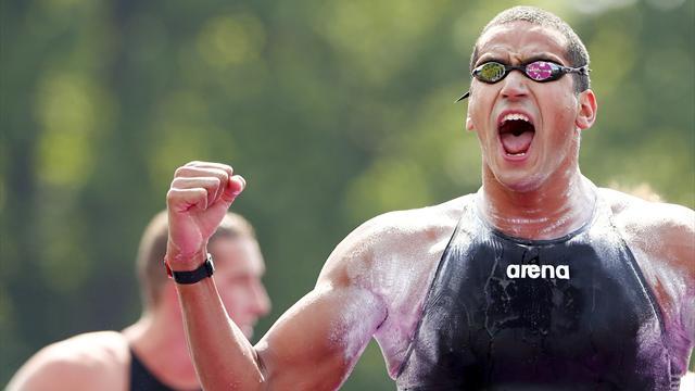 Mellouli wins open water gold, Fogg fifth