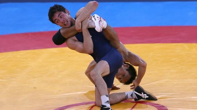 Грузинский борец пробился вфинал Олимпиады