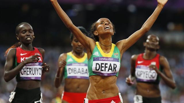 Defar wins back Olympic title, 1500 won by outsider