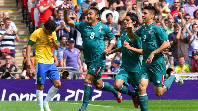 Le Mexique s'offre l'or, et le Brésil