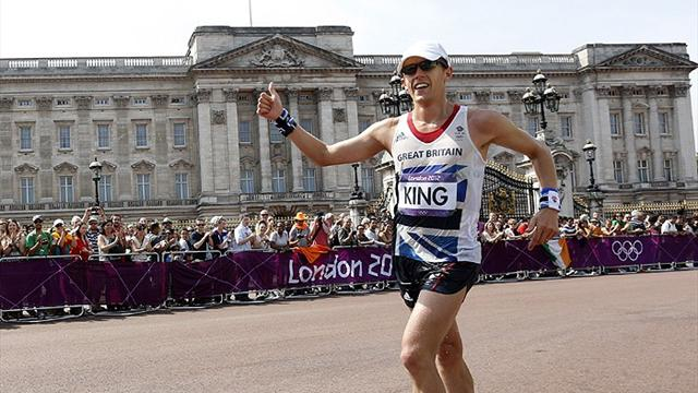 King hopes for next generation of Olympic walkers