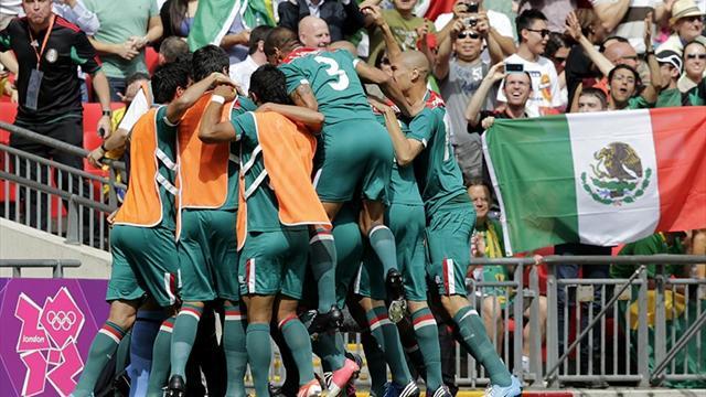 Mexico stun Brazil to win Olympic football gold
