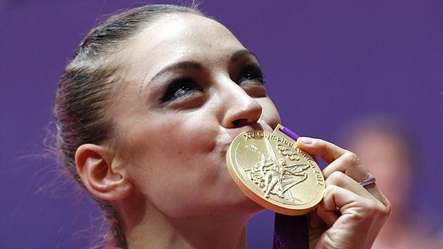 Kanaeva wins rhythmic gymnastics Olympic gold