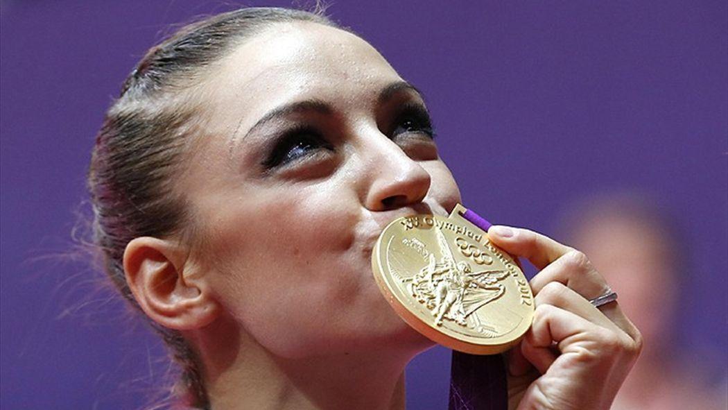 Kanaeva wins golden double - Olympic Games 2012 - Gymnastics
