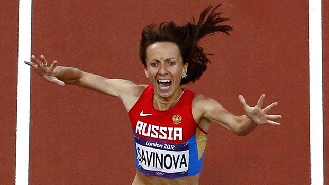 Savinova storms to 800m Olympic gold