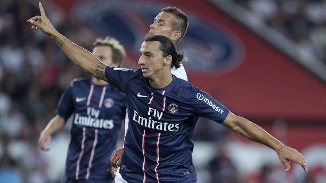 Ibrahimovic rescues PSG on debut