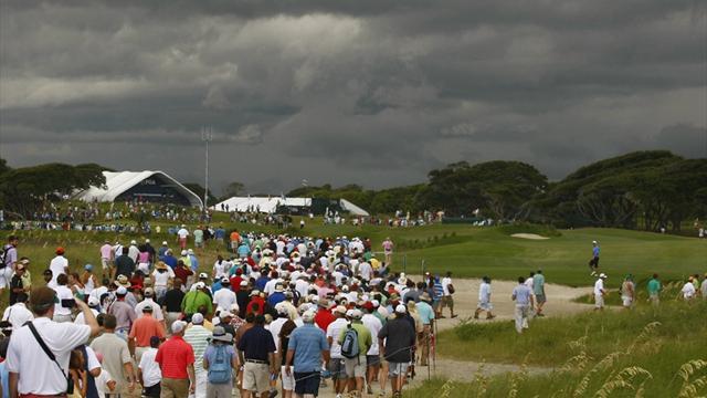 Storm halts McIlroy's US PGA progress and Tiger's slide