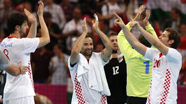 Croatia take men's Olympic handball bronze