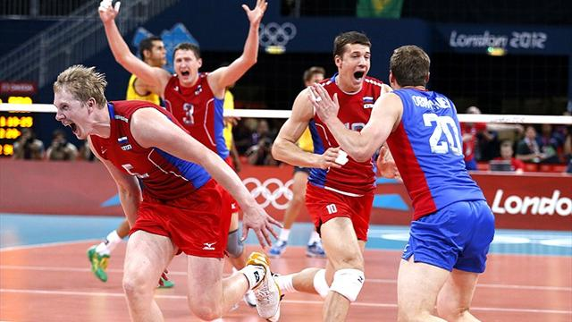 Russia clinch Olympic volleyball gold