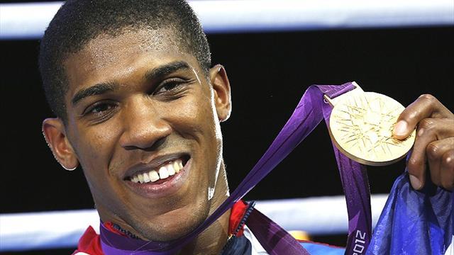 Joshua wins Olympic super-heavyweight gold