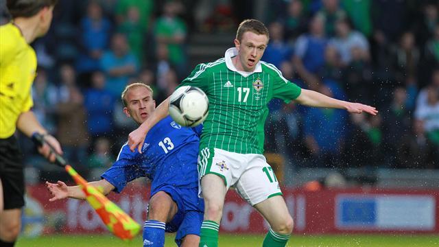 Northern Ireland salvage draw in thriller with Finland