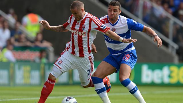 Reading 1-1 Stoke