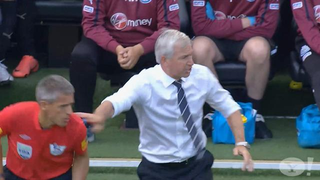 Pardew charged for shove