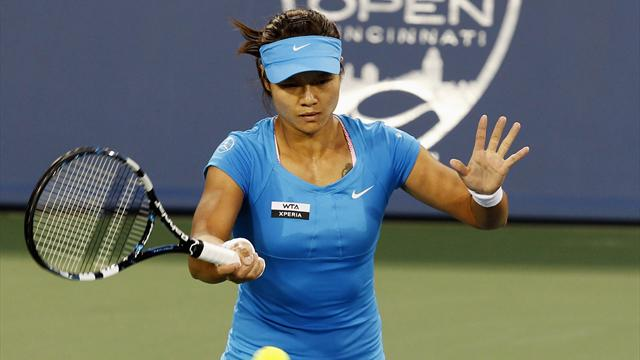 Li defeats Venus in Cincy to set up Kerber final