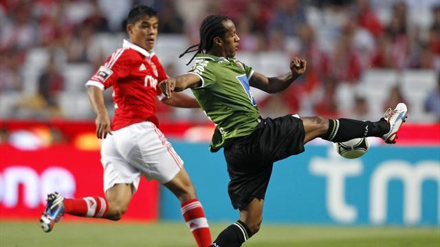 Nightmare debut for Melgarejo as Benfica held