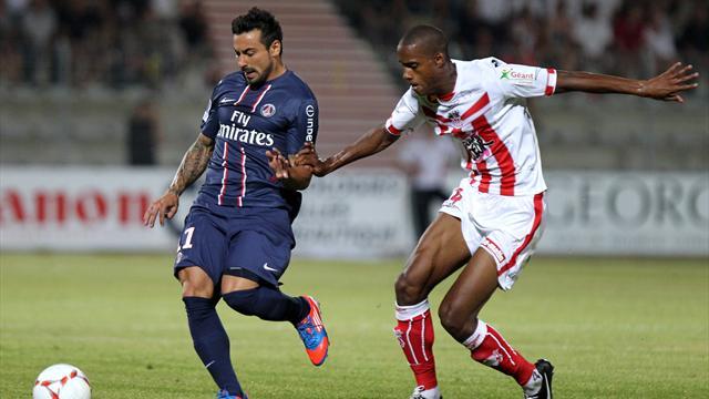 Ten-man PSG held again as rivals win