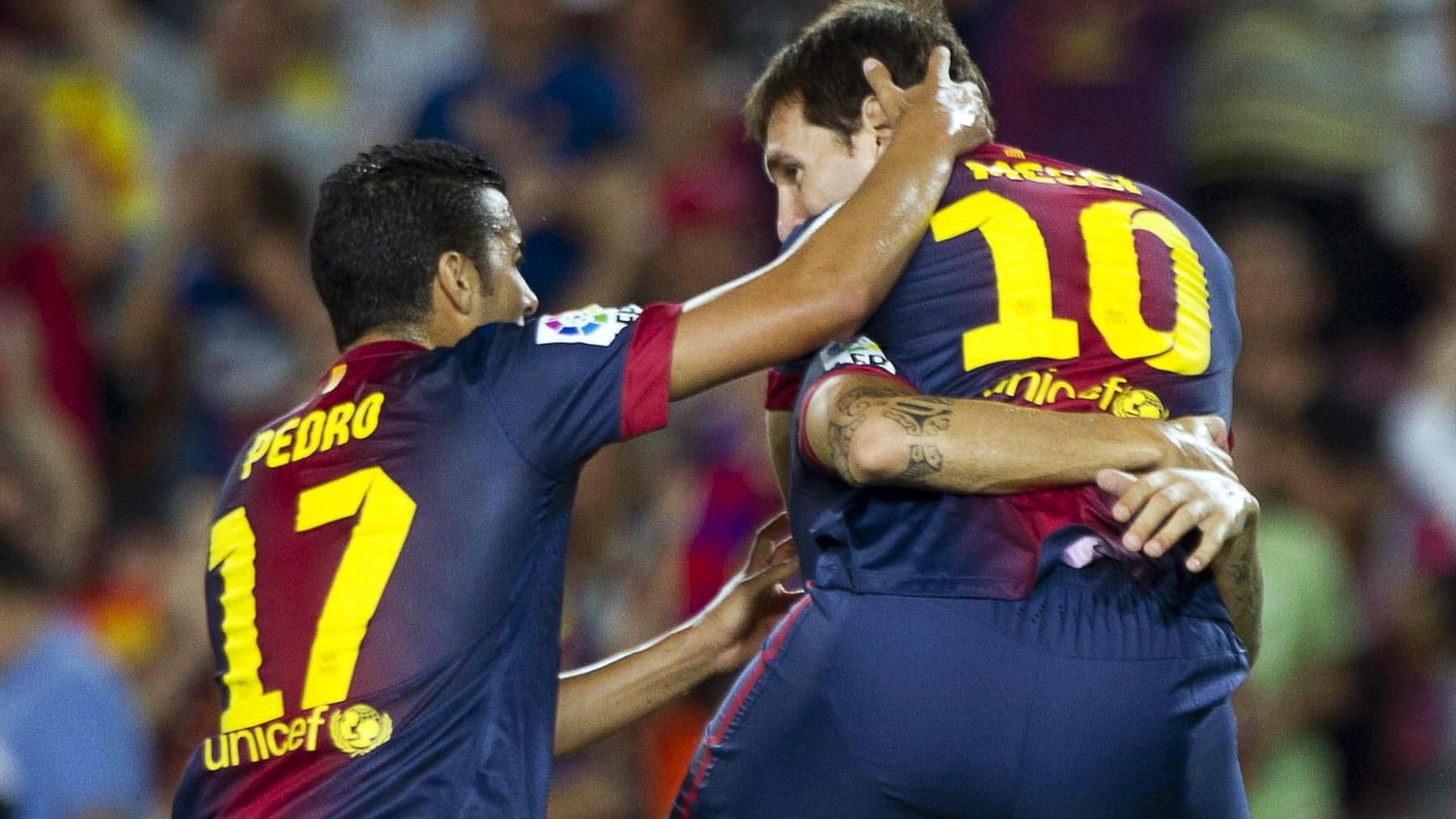 2012-13 Primera Division Barcelona Pedro Messi