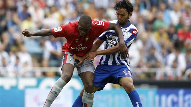 Deportivo la Coruna win on return to La Liga