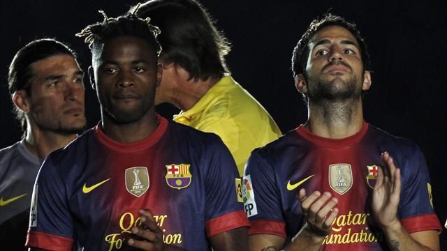 Song: I want trophies at Barca