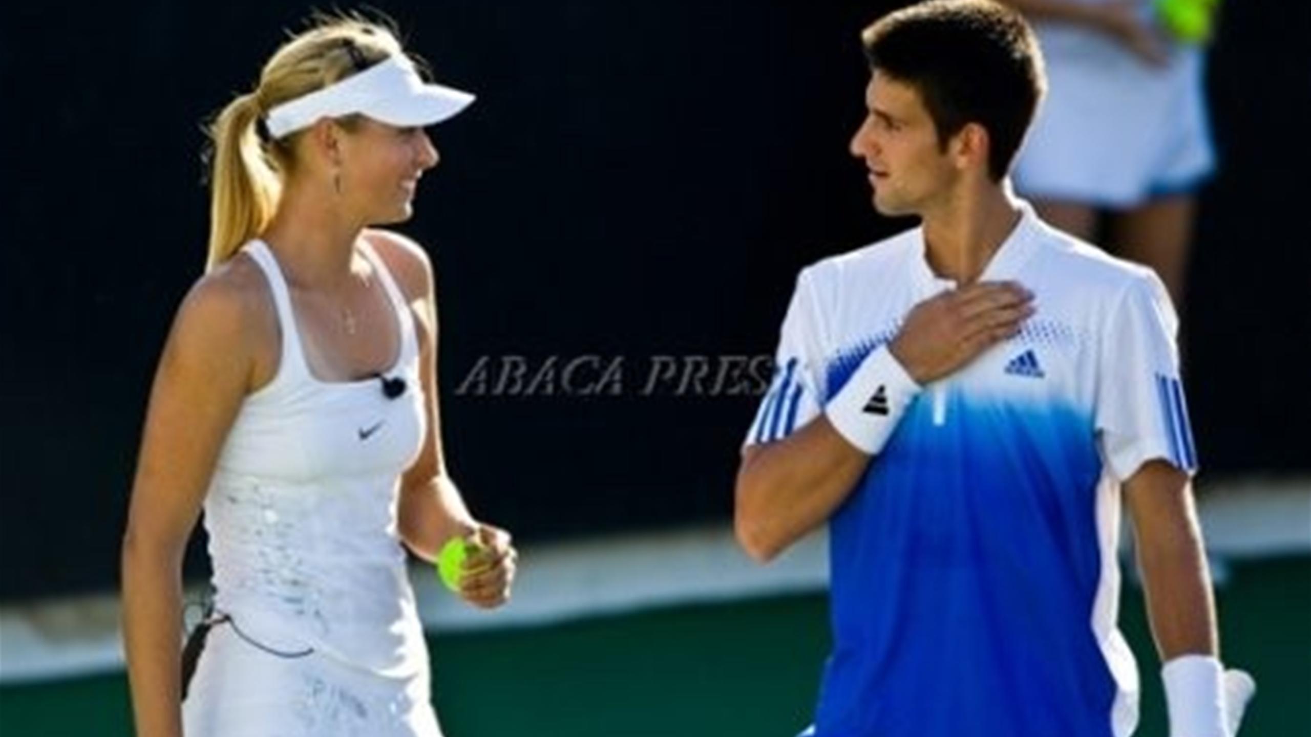 Tennis News Who Is This Kid Maria Sharapova Recalls First Meeting With Novak Djokovic Eurosport
