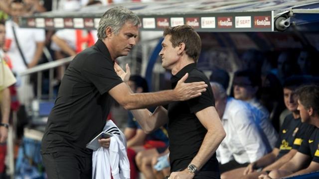 """Vilanova : """"Je ne serais sans doute pas là"""" à la place de Mourinho"""