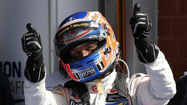 İlk cep Jenson Button'ın