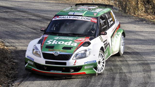 Hanninen takes Zlín lead back from Mikkelsen