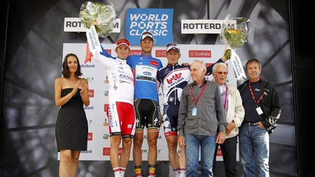 Bos wins Ports stage two, Boonen claims overall win