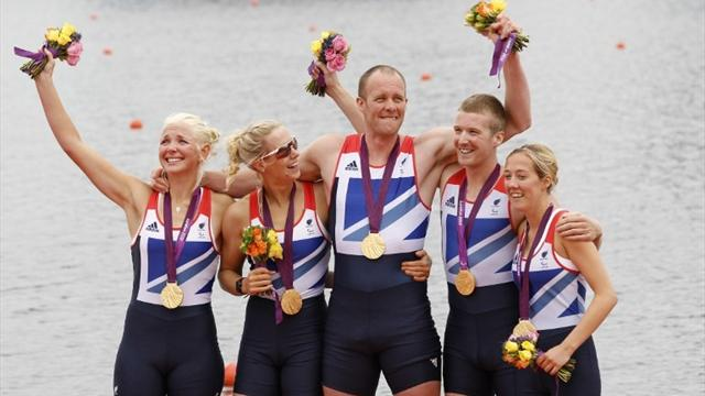 Paralympic gold for GB at Eton Dorney