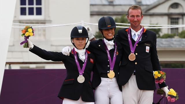 Gold for Belgium, silver for GB in Paralympic dressage
