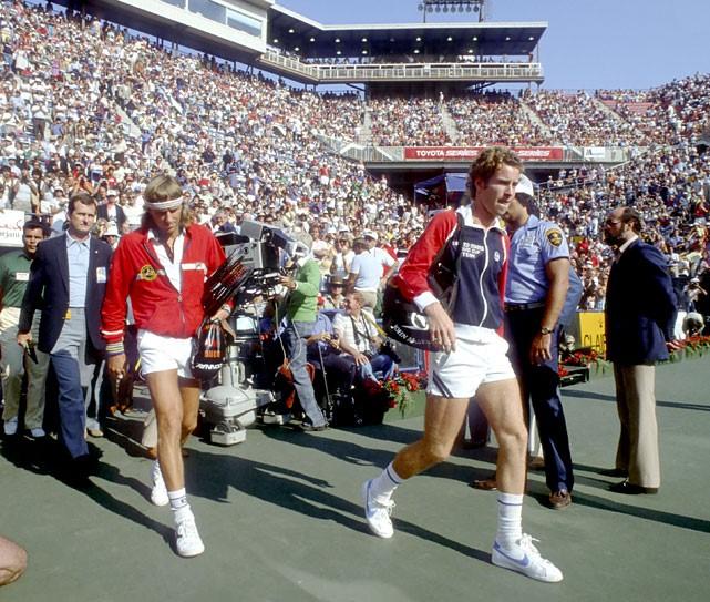 1980 US Open Borg McEnroe