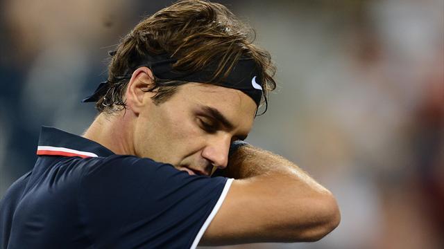Federer tombe du quart