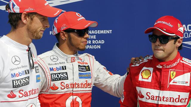 Hamilton leads McLaren front row lockout in Italian GP qualifying