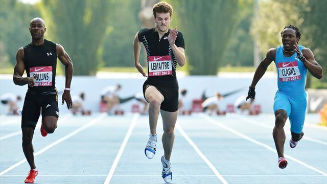 Lemaitre wins 100m in Rieti