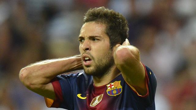 Alba joins Iniesta and Sanchez on sidelines for Getafe trip
