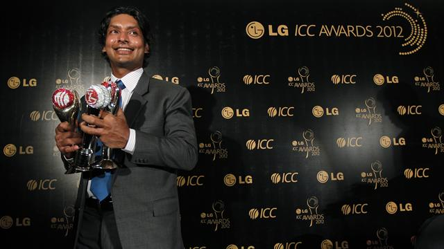 Sangakkara claims top ICC awards