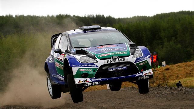 Latvala wins Rally GB, Loeb nears ninth title