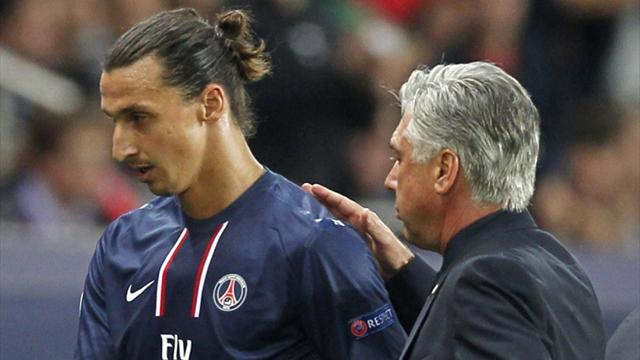 """Ancelotti : """"Après Brest, j'étais en colère contre Ibra"""""""