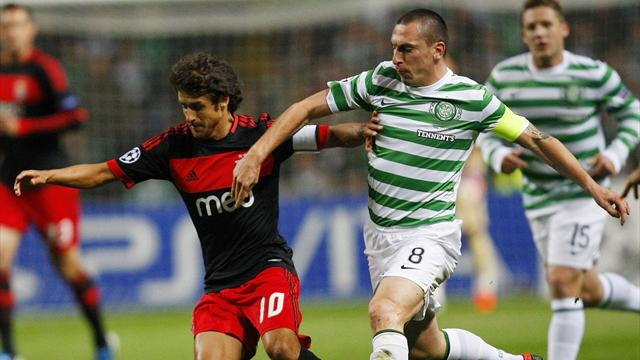 Celtic held by resolute Benfica