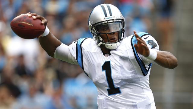 Newton's double threat poses challenge for Giants