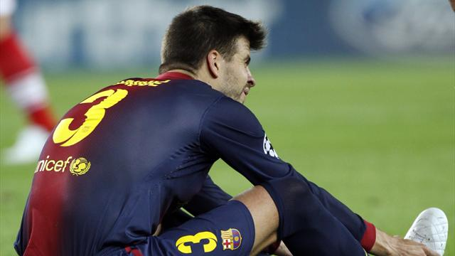 Pique faces three weeks out