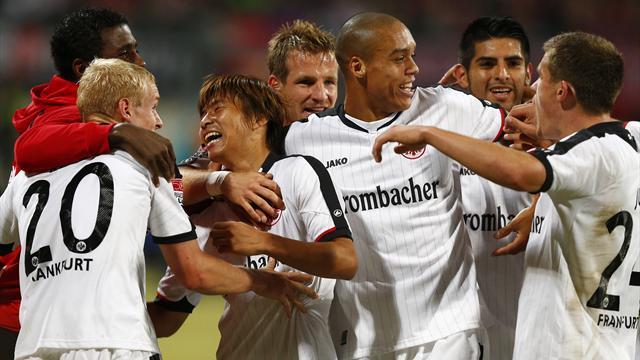 Frankfurt go top with win at Nuremberg